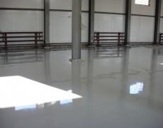 Промышленный наливной пол в промышленном здании: пример 3