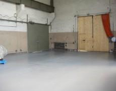 Бетонный пол в промышленном здании: пример 3