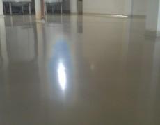 Магнезиальный пол в промышленном здании: пример 3