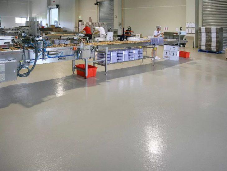 Наливные полы для пищевой промышленности