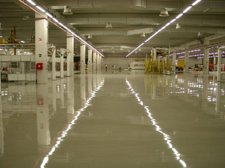 Наливные полы для аэропортов, вокзалов 3