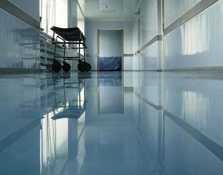 Наливные полы для медицинских учреждений 2
