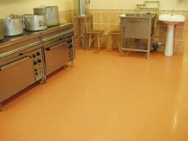 Наливные полы для пищевого производства 2