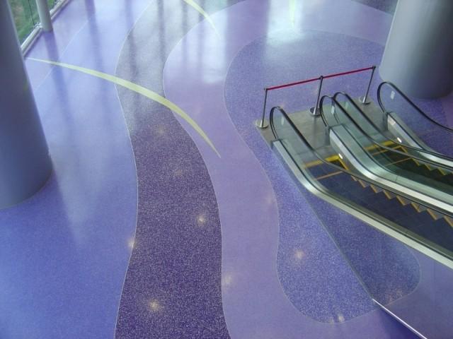 Наливные полы для аэропортов 2