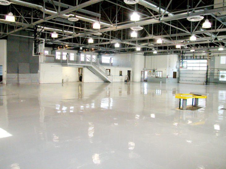 Наливные полы для аэропортов 3