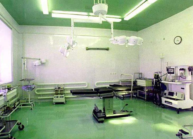 Наливные полы для медицинских учреждений 3