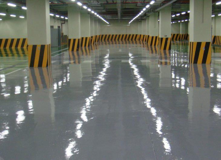 Наливные полы для аэропортов 4