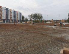 Открытый паркинг ЖК Белорусский квартал (2)