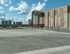 Открытый паркинг ЖК Белорусский квартал (4)