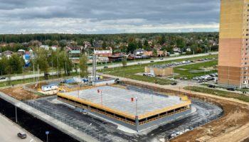 Открытый паркинг ЖК Белорусский квартал (1)